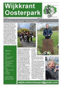 Download de PDF voor Wijkkrant juni 2016
