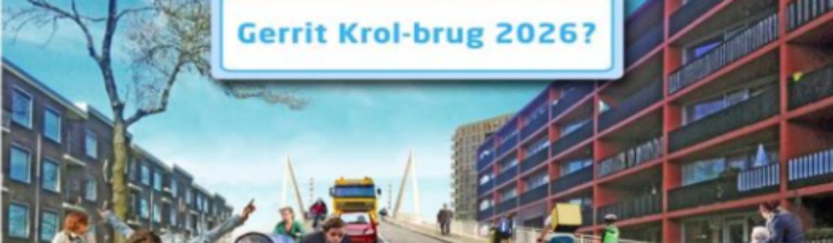 Teken de petitie voor een lage Gerrit Krolbrug
